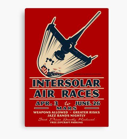 Intersolar Swordfish Print Canvas Print
