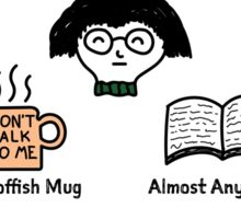 What To Feed Your Introvert Sticker