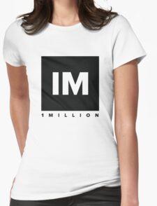 1 million dance studio shirt Womens Fitted T-Shirt