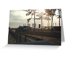 Views of Red Hook - Water Taxi Station Greeting Card