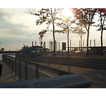 Views of Red Hook - Water Taxi Station Photographic Print