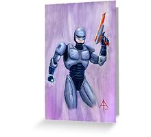 ROBcop Greeting Card