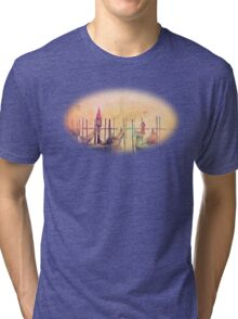 A Misty Morning In Venice Tri-blend T-Shirt