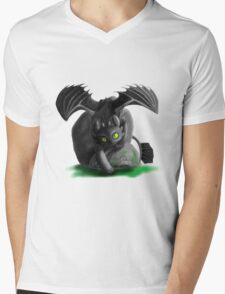 Night Stalker Mens V-Neck T-Shirt