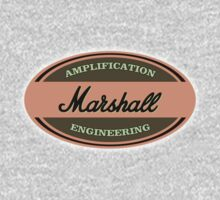 Vintage Marshall Amps One Piece - Long Sleeve