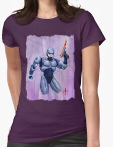 ROBcop Womens Fitted T-Shirt