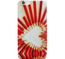 To the heart (texture) iPhone Case/Skin