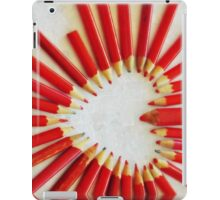 To the heart (texture) iPad Case/Skin