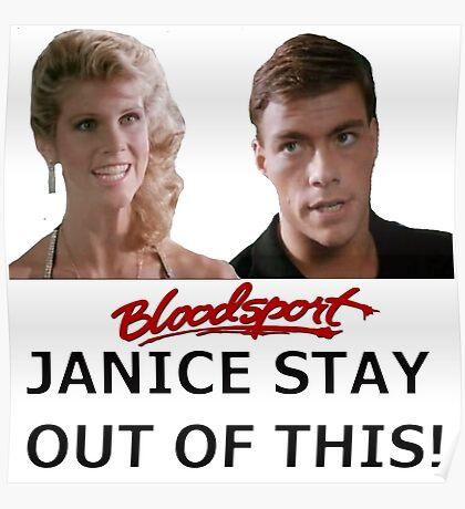 Bloodsport - Frank & Janice  Poster