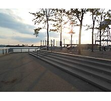 Views of Red Hook - Steps Photographic Print