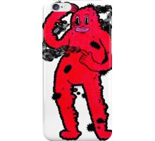 Red Thinking Guy iPhone Case/Skin