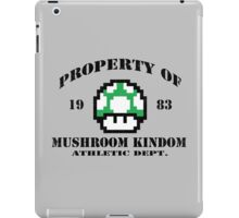 Mushroom Kingdom 1UP iPad Case/Skin
