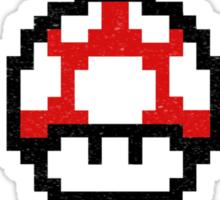Property of Mushroom Kingdom red Sticker