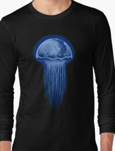 Moon Jellyfish Long Sleeve T-Shirt
