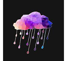 Raindrop Cloud Photographic Print