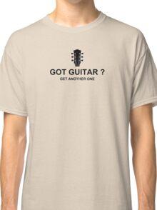 Got Guitar Black Classic T-Shirt