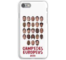 Portugal - Campeões Europeus 2016 iPhone Case/Skin