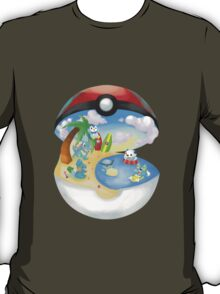 Pokemon: Water Starters Home T-Shirt