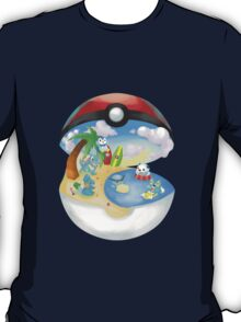 Pokemon: Water Starters Home T-Shirt