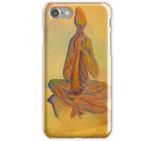Meditating Lady iPhone Case/Skin