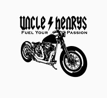 Bobber Motorcycle 'Fuel your Passion' in black Unisex T-Shirt
