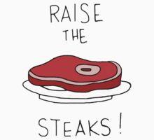 Raise the Steaks! Kids Clothes