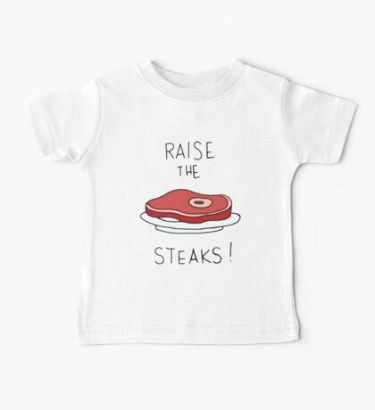 Raise the Steaks! Baby Tee