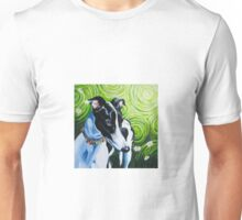 Daisy, Rescued Greyhound Unisex T-Shirt