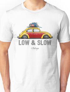 VW Beetle Low & Slow (yellow) Unisex T-Shirt