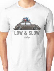 VW Beetle Low & Slow (brown) Unisex T-Shirt
