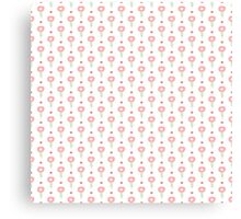 Simple little flower seamless pattern. Kids cute pastel background. Canvas Print