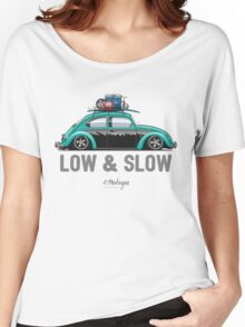 VW Beetle Low & Slow (aquamarine) Women's Relaxed Fit T-Shirt
