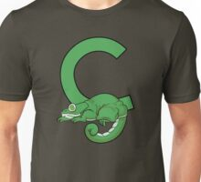 C is for Chameleon Unisex T-Shirt