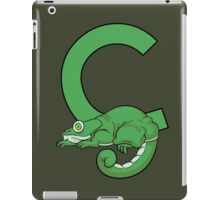 C is for Chameleon iPad Case/Skin