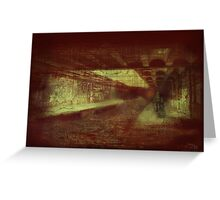 Hell Tunnel 2 Greeting Card