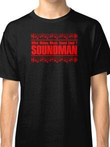 Good Soundman Red Classic T-Shirt