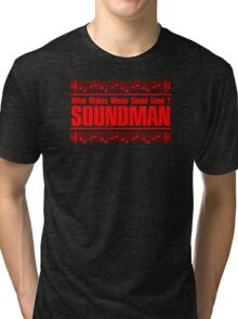 Good Soundman Red Tri-blend T-Shirt