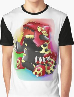 Primal Groudon Graphic T-Shirt