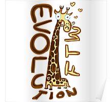 Giraffa camelopardalis Poster