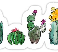 Watercolor Cactuses Sticker