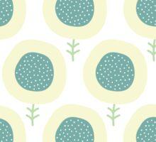 Simple kids flower pattern. Doodle pastel seamless background. Cute wallpaper. Sticker