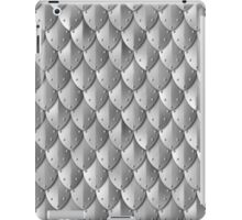 Riveted Scale Armor - Silver iPad Case/Skin