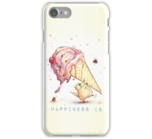 Happiness is... iPhone Case/Skin