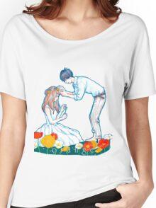 Orange Anime Naho Kakeru Love Women's Relaxed Fit T-Shirt