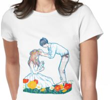 Orange Anime Naho Kakeru Love Womens Fitted T-Shirt