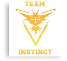 Pokemon Go-Instinct Jersey Canvas Print