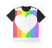 LGBT Heart Graphic T-Shirt