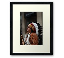 And I say to myself!! Framed Print