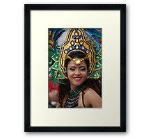 Brazilian dancer Framed Print