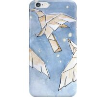 Origami Night Birds iPhone Case/Skin